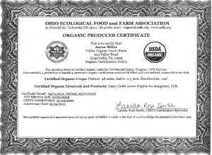 OG certification
